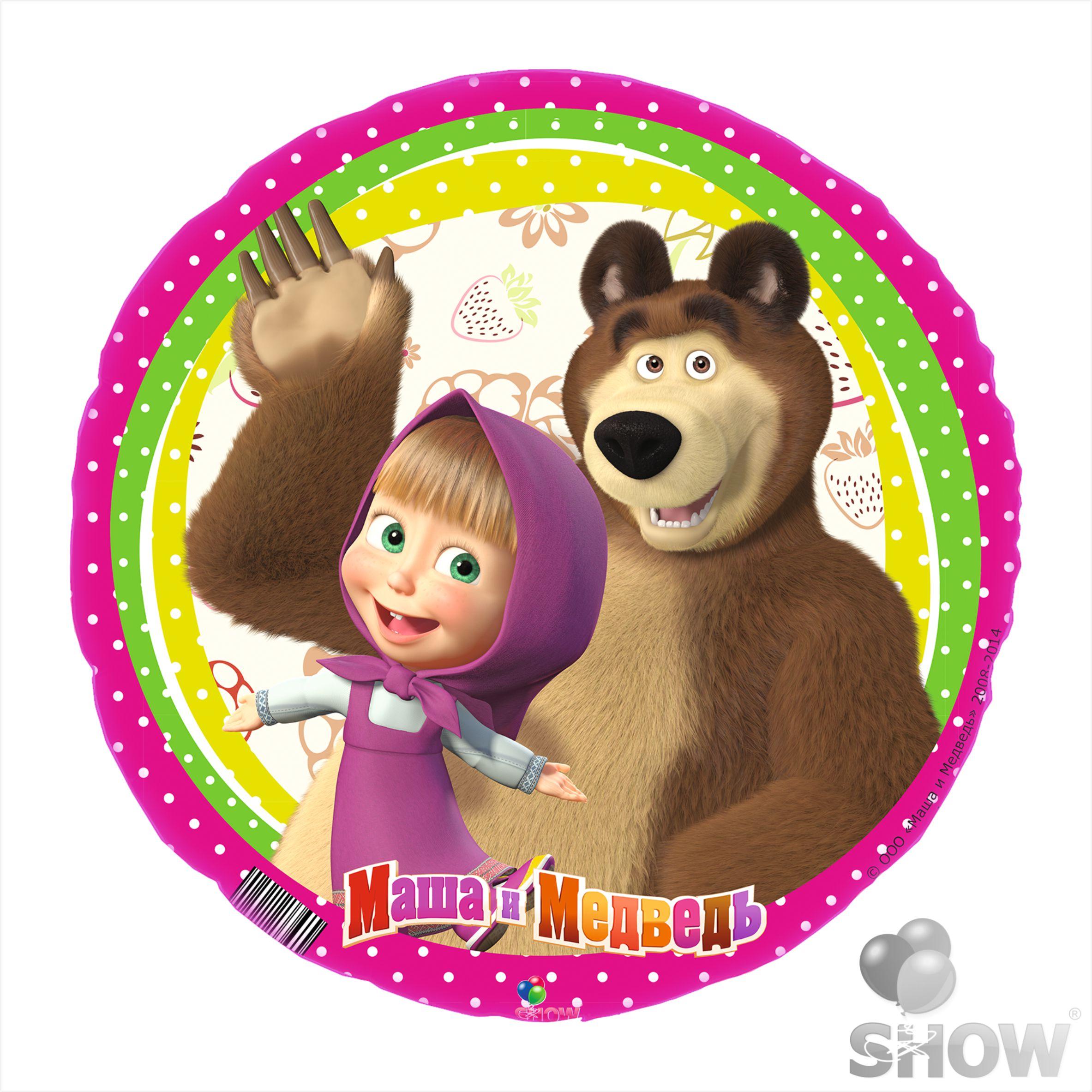 маша и медведь санки
